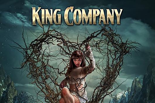 元THUNDERSTONE~WARMEN等のドラマー、ミルカ・ランタネンを中心に2014年に結成のフィンランドのハード・ロック KING COMPANYが3rd「TRAPPED」を6月25日にリリース