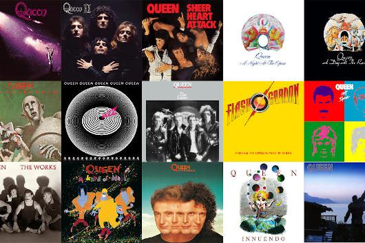 QUEENの結成50周年記念の再発アルバム15タイトルすべてがオリコン週間ランキングTOP100にランクイン