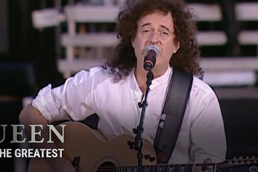 QUEENの結成50周年記念YouTubeシリーズ「Queen The Greatest」で、第10弾となる「1976年ライヴ・イン・ハイドパーク」が公開