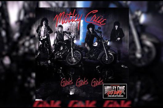 MOTLEY CRUEが『Girls, Girls, Girls』のデジタル・リマスター盤のトレーラー映像を公開