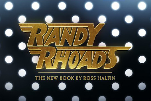 ロス・ハルフィンの撮影によるランディ・ローズの写真集が8月に発売! 前書きはオジー・オズボーンが執筆!