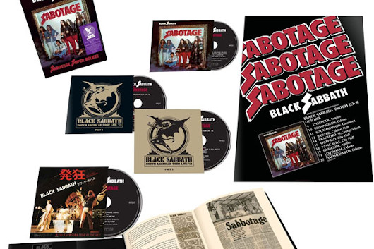 BLACK SABBATH 「SABOTAGE」(1975年)の4CDスーパー・デラックス・エディションの日本盤が6月23日に発売!