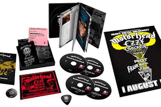 MOTORHEAD 1981年リリースのライヴ盤『No Sleep 'Til Hammersmith』が各種拡大版で6月リリース