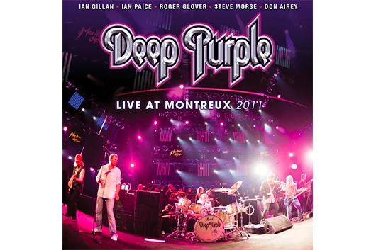 DEEP PURPLEが2011年のライヴ・アルバム「LIVE AT MONTREUX 2011」をDVD+2CDで7月にリリース!!