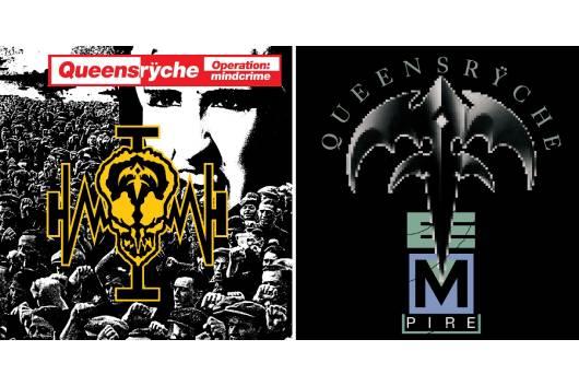 QUEENSRŸCHEの名盤2作、「OPERATION:MINDCRIME」と「EMPIRE」のスーパー・デラックス・エディションが7月に登場!