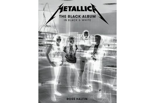 ロス・ハルフィンによるMETALLICAの豪華写真集が10月に発売!