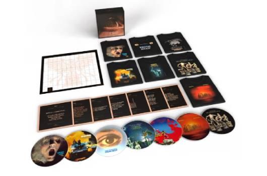 URIAH HEEPの初期7作のアナログ・ピクチャーディスクを収めた豪華ボックスセットが9月にリリース!