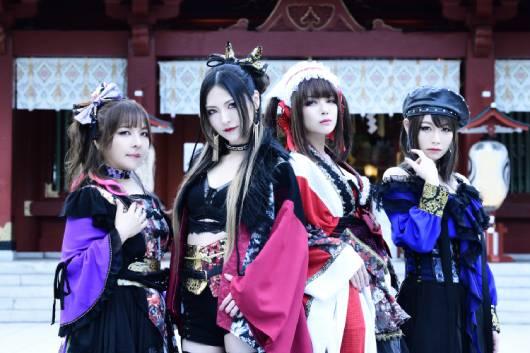 鋼鉄女子バンドMary's Bloodの3ヵ月連続マンスリー・ライヴ! 7月公演が延期となり、10月23日(土)に振替公演!