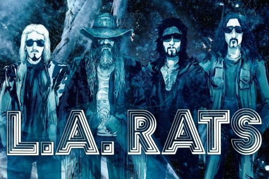 ニッキー・シックスやロブ・ゾンビらによるスーパー・バンドL.A.RATSが楽曲を提供したNETFLIX映画『THE ICE ROAD』のサウンドトラックがリリース!