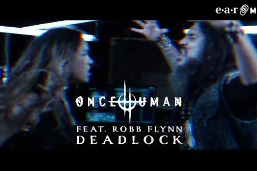 ローガン・メイダー率いるONCE HUMANが旧友ロブ・フリンがゲスト参加したニュー・シングルのMVをリリース!
