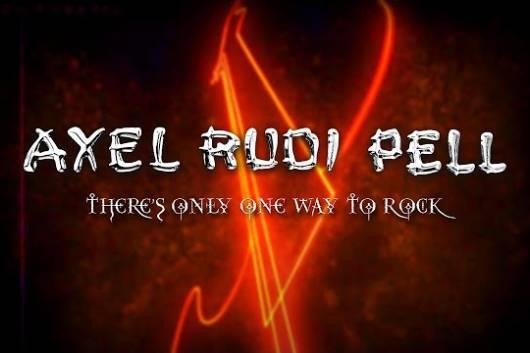 """アクセル・ルディ・ペルが発売間近のカヴァー・アルバムからサミー・ヘイガー""""There's Only One Way To Rock""""のリリック・ビデオを公開!"""