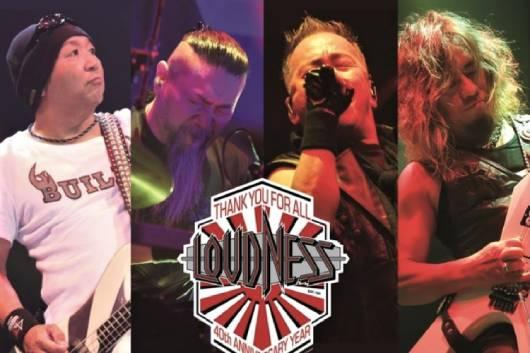 日本が世界に誇るLOUDNESS、今年2回目の全国ツアーが決定!