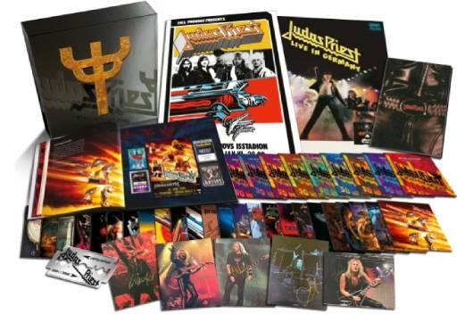 結成50周年を迎えたJUDAS PRIESTがCD42枚組の巨大なボックスセットを10月にリリース!