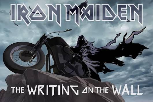 """IRON MAIDENが6年振りとなる新曲 """"The Writing On The Wall"""" をリリースし、アニメMVを公開!"""