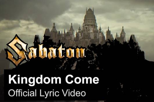 """SABATONがファンの要望に応えてMANOWARのカヴァー """"Kingdom Come"""" を正式にリリース!"""