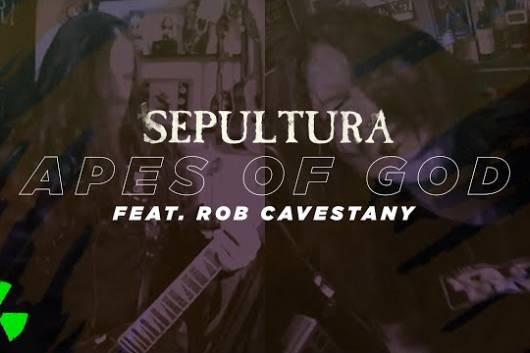 """SEPULTURAが8月リリースの企画アルバム「SEPULQUARTA」からロブ・キャヴェスタニィ(DEATH ANGEL)と共演した """"Apes Of God"""" をシングル・カット!"""
