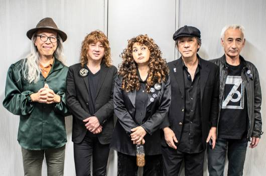 ジャパニーズ・ハード・ロックの伝説のバンド、カルメン・マキ&OZが11月に東名阪Zeppツアー!