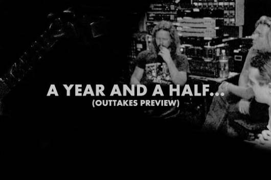 「METALLICA」30周年記念ボックスセットのDVD 『A YEAR AND A HALF IN THE LIFE OF METALLICA OUTTAKES』のプレビュー動画が公開!