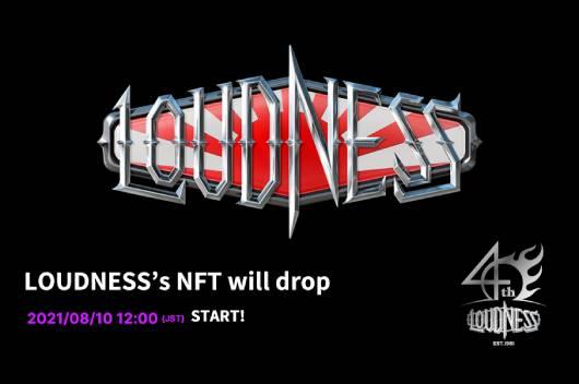 LOUDNESSが8月5日のライヴで初披露した新曲を8月10日にNFTリリース!