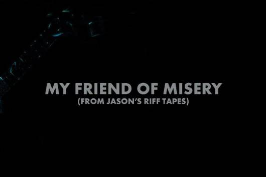 "METALLICAが""My Friend Of Misery""の基盤となったジェイソン・ニューステッドのベース・デモ音源を公開!"