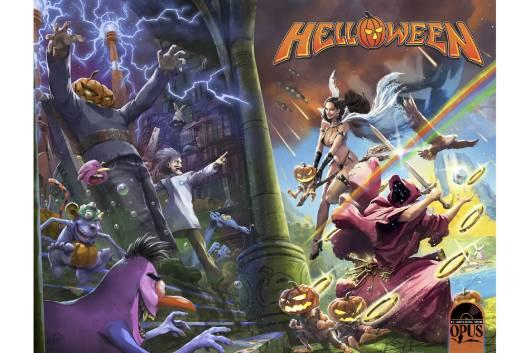 HELLOWEENのお馴染みのキャラクターが登場するコミック・ブックが10月に発売! アクション・フィギュアも登場!
