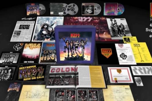KISSの名盤「DESTROYER(地獄の軍団)」の45周年記念スーパー・デラックス・ボックスセットが11月に登場!